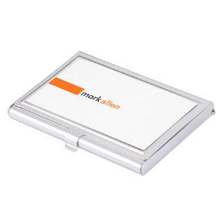 Custom Modern 520 Case For Business Cards