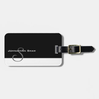Custom Monogram 5 Luggage Tag