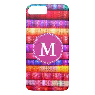Custom Monogram Bold Colorful iPhone 7 Plus Case