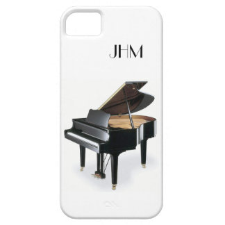 Custom Monogram Classical Music Grand Piano Case For The iPhone 5