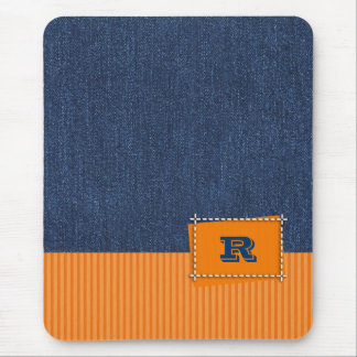 Custom Monogram Father's Day Gift Mousepads