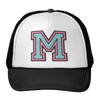 """Custom Monogram """"M"""" Initial Cap"""