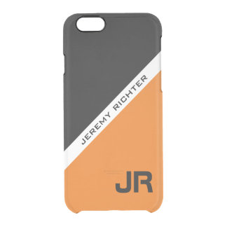 Custom monogram, name, and color (with B&W) cases