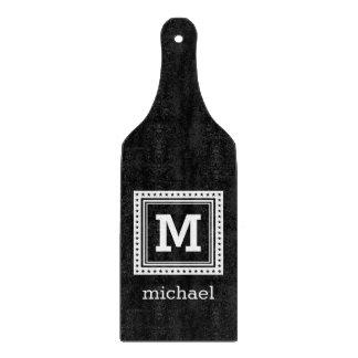 Custom monogram, name & color cutting board