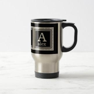 Custom monogram, name & color mugs