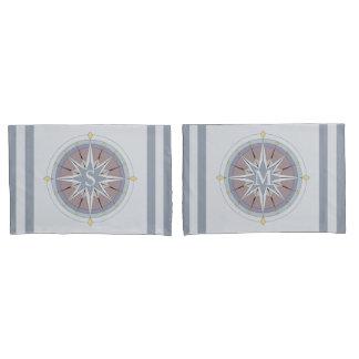 Custom Monogram Nautical Style Pillowcases, Rev Pillowcase