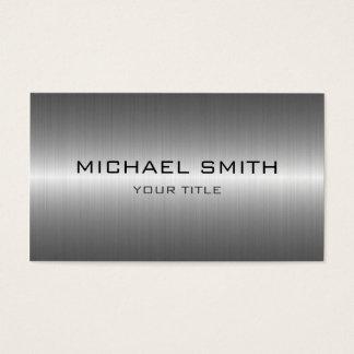 Custom Monogram Silver Stainless Steel Metal