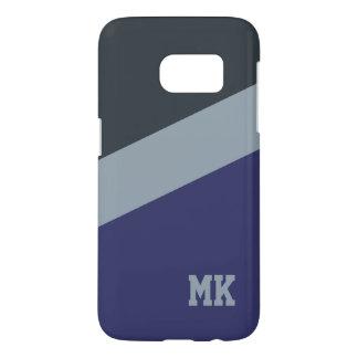Custom Monogram Tri-Color phone cases