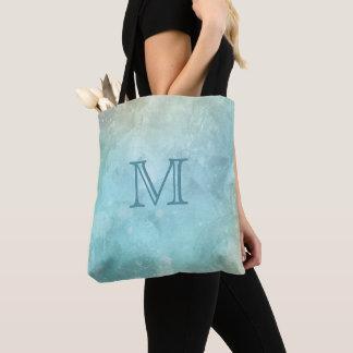 Custom monogram Watercolor Splash bags