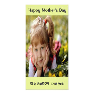 Custom Mother's day photo card