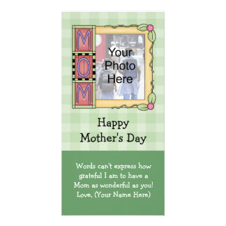 Custom Mother's Day Photo Cards Photo Card