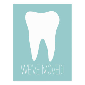 Custom moving postcards for dentist practice