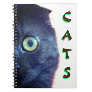 Custom Munchkin Cat Notebooks