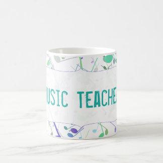 Custom Music Teacher Splatter Mug
