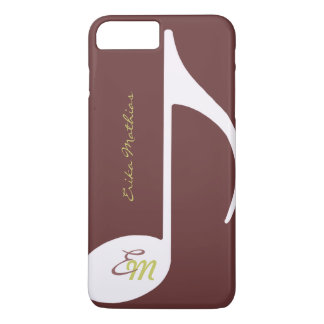 custom musical note iPhone 8 plus/7 plus case