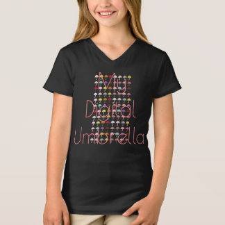 Custom My Digital Umbrella Kids T-shirt