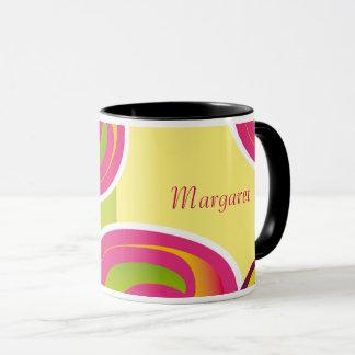 Custom Name and Monogram Birthday Gift Mugs