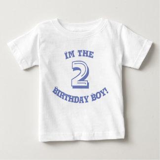 Custom Name and Number Birthday Boy t-shirt