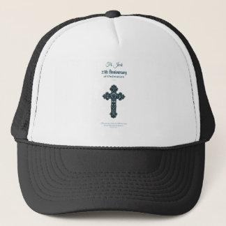 Custom Name & Anniversary Year Ordination, Priest Trucker Hat