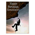 Custom Name - Birthday for Boy - Rock Climbing Card