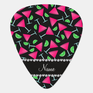 Custom name black pink cosmos limes pick