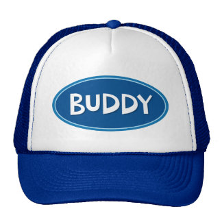 Custom name Buddy Trucker Hat