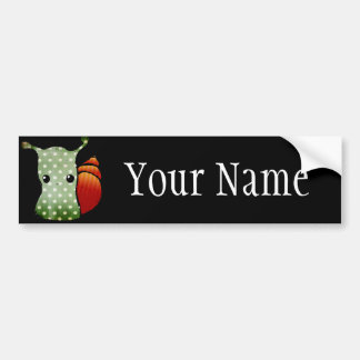 Custom Name Character Bumper Stickers