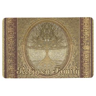 Custom Name Family Tree Floor Mat
