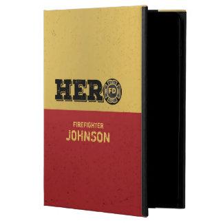 Custom Name, Firefighter Hero Case For iPad Air