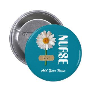 Custom Name Gift Buttons for Nurses