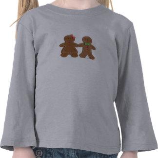 Custom Name Gingerbread Cookie Boy & Girl Toddler T-shirt