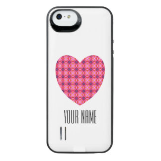 Custom Name iPhone 5/5s Power Gallery™ Battery Cas Uncommon Power Gallery™ iPhone 5 Battery Case