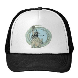 Custom Name Liberty Trucker Hat