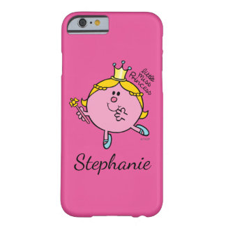 Custom Name Little Miss Princess | Royal Scepter Barely There iPhone 6 Case
