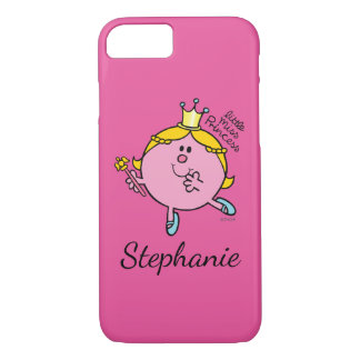 Custom Name Little Miss Princess | Royal Scepter iPhone 7 Case