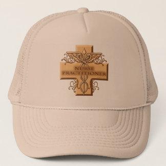 Custom Name Nurse Practitioner Caduceus Trucker Hat