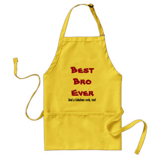 Custom Name or Sentiment Best Brother Ever V3 Standard Apron