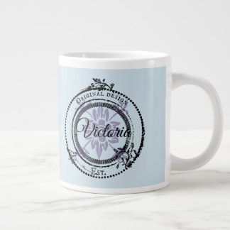 Custom Name  Original Design Large Coffee Mug