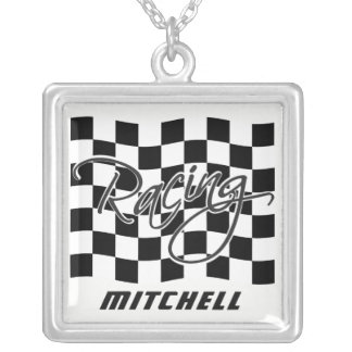 Custom Name Racing necklace