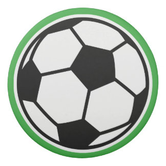 Custom name round soccer ball eraser for kids