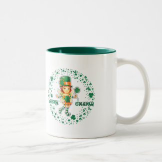 Custom Name St. Patrick's Day Gift Mugs
