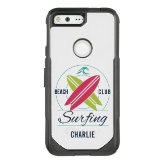 Custom Name Surfer phone cases