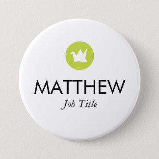 Custom Name Tag 7.5 Cm Round Badge