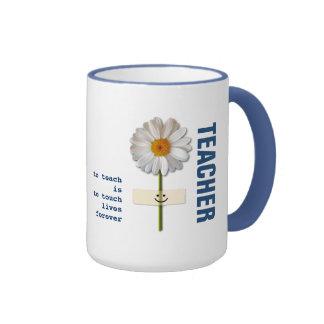 Custom Name Teacher Appreciation Gift Mugs