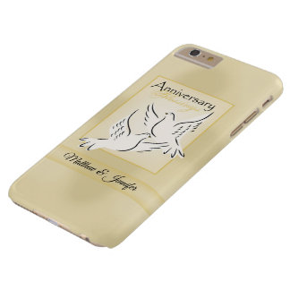 Custom Name, Wedding Anniversary Blessings Barely There iPhone 6 Plus Case