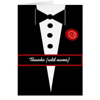 CUSTOM NAME Wedding DJ Wedding Thank You Card