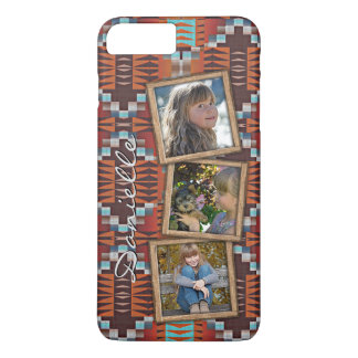 Custom Native American Indian Tribal Pattern iPhone 8 Plus/7 Plus Case
