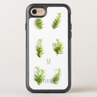 custom natural floral art simple design OtterBox symmetry iPhone 8/7 case