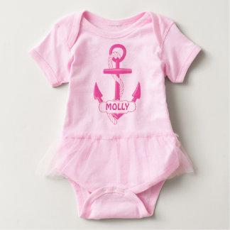 Custom Nautical Anchor Girl Baby Tutu Bodysuit