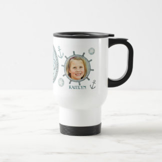Custom Nautical Best Dad Ever Father's Day Mug